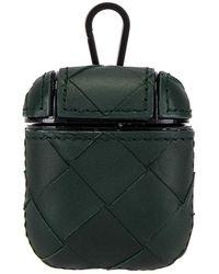Bottega Veneta Tasche für Airpods - Grün