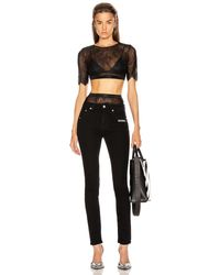 Off-White c/o Virgil Abloh - Lace Cropped Set - Lyst