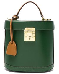 Mark Cross - Bicolor Cross Grain & Smooth Calf Benchley Bag - Lyst