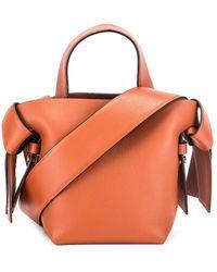 Acne Studios Micro Bucket Bag - Orange