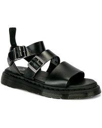 Dr. Martens Gryphon Strap Sandal Sandals - Black