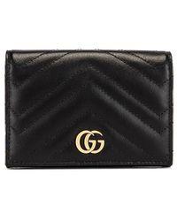 Gucci - Leather Passport Case - Lyst