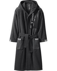 Alexander Wang Polar Robe In Black & Black