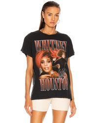 MadeWorn Whitney Houston Tee - Black