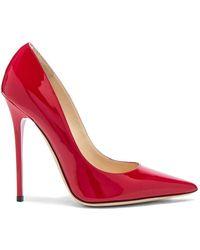 Jimmy Choo - Anouk Patent Heels In Red - Lyst