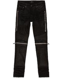 Amiri Mx2 Waxed Jean - Black