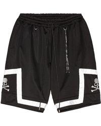 MASTERMIND WORLD Jacquard Tape Shorts - Black