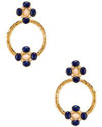 Christie Nicolaides Cruz Earrings - Blue