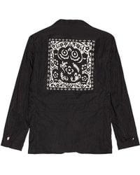 Sasquatchfabrix. Kirigami Safari Jacket - Black