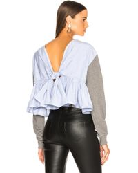 3.1 Phillip Lim - Cropped Tie Back Sweater - Lyst