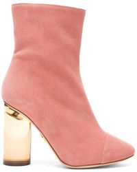 Brother Vellies - Suede Bianca Boots - Lyst