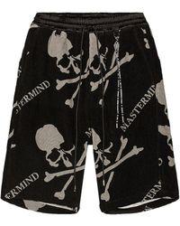 MASTERMIND WORLD Organic Cotton Shorts - Black