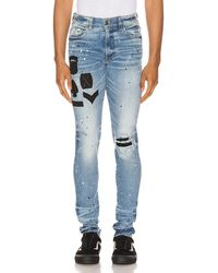 Amiri - Painted Military Patch Jean - Lyst