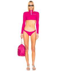 Off-White c/o Virgil Abloh Long Sleeve Swim Set - Pink