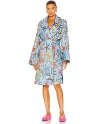 Versace Tresor De La Mer Bath Robe - Blau