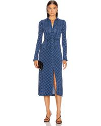 Altuzarra Claudia Dress - Blue