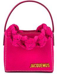 Jacquemus Le Petit Sac Noeud Bag - Pink