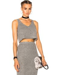 ThePerfext - For Fwrd Kendall V-neck Tank - Lyst