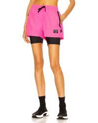 Adam Selman Sport Combo Gym Short - Pink