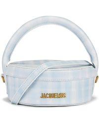 Jacquemus La Boite A Gateaux Bag - Blue