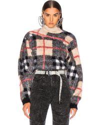 Y. Project - Tartan Sweater - Lyst