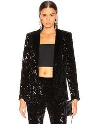 Alexis Rashida Sequin Jacket - Black