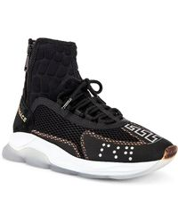 Versace Chain Reaction High Top Trainer - Black