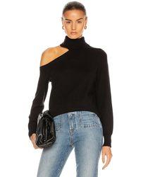 L'Agence Easton One Shoulder Jumper - Black