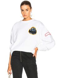 Acne Studios - Fire Capsule Sweatshirt - Lyst