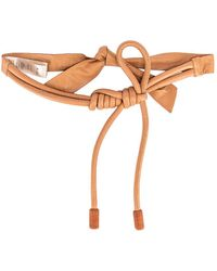 Johanna Ortiz Antiquary Conservation Leather Belt - Brown