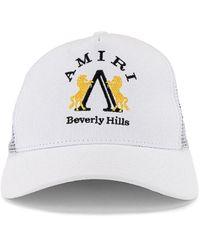Amiri Beverly Hills Trucker Hat - Weiß