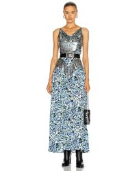 Paco Rabanne - Embellished Floral Gown - Lyst