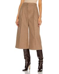 Lemaire One Pleat Bermuda Short - Natural