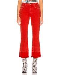 AMO - Bella Released Hem Jeans - Lyst