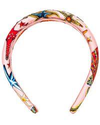 Versace Tresor De La Mer All Over Headband - Multicolor