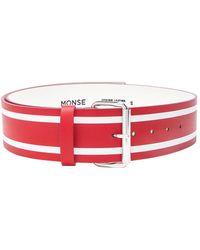 Monse - Racing Stripe Print Belt - Lyst