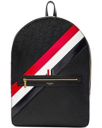 Thom Browne - Diagonal Stripe Backpack - Lyst
