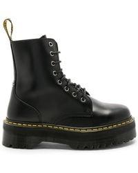 Dr. Martens Jadon Fusion Smooth Boot - Black