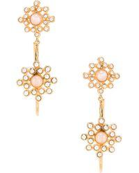 Christie Nicolaides Rosa Maria Hoop Earrings - Pink