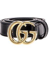 Gucci GG Marmont Belt - Schwarz