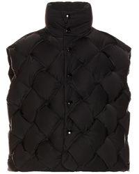 Bottega Veneta Tech Nylon Vest - Black