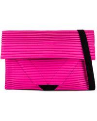Homme Plissé Issey Miyake Pleasts Flat Bag - Pink