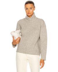 Nili Lotan Zoe Turtleneck Sweater - Grau