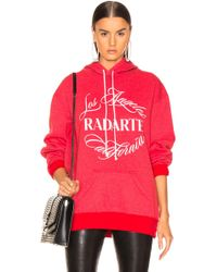 Rodarte - Logo Print Hoodie - Lyst