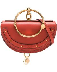 Chloé - Small Nile Leather Minaudiere - Lyst