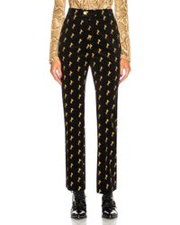 Chloé - Horse Embroidered Trousers - Lyst