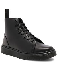 Dr. Martens - Talib 8 Eye Leather Boots - Lyst
