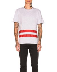 Helmut Lang   Re-edition Red Stripe T-shirt   Lyst