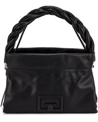 Givenchy Medium ID 93 Twisted Strap Zip Bag - Schwarz