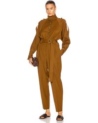 Proenza Schouler Wool Jumpsuit - Multicolour